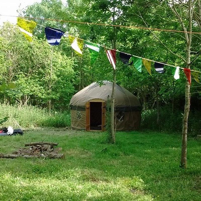 Handcrafted yurt by Millie's Yurts