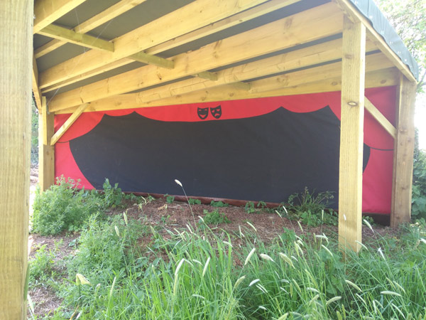 Canvas Theatre by Millie's Yurts