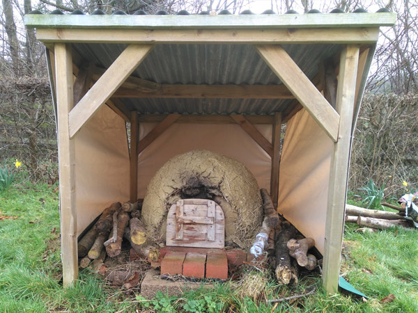 Pizza oven by Millie's Yurts