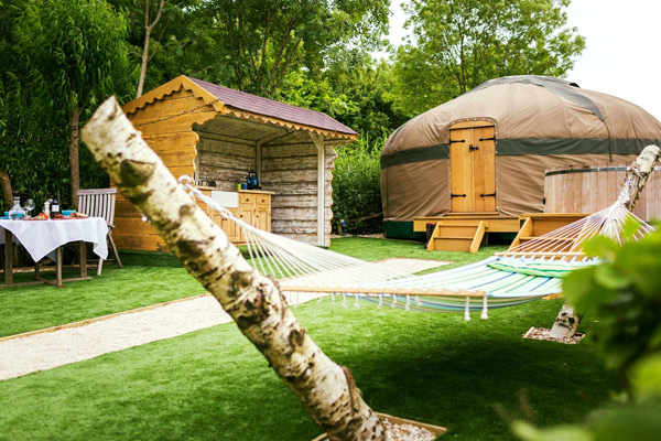 Stay in a Millie's Yurt at Hollands Farm Dorset