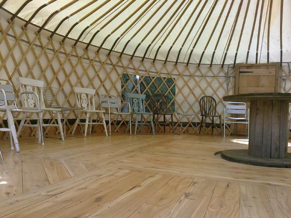 Yurt floor