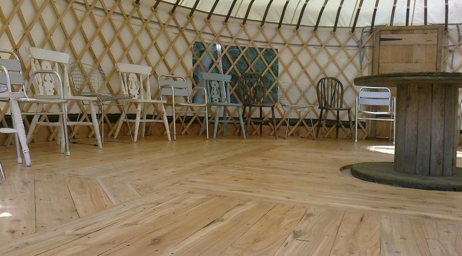 Yurt flooring